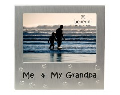 "Me and My Grandpa Photo Frame - 5 x 3.5"" (13 x 9 cm)"
