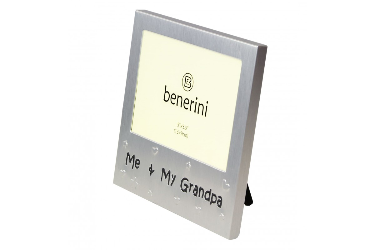 Me & My Grandpa Unique Photo Frame Present | benerini