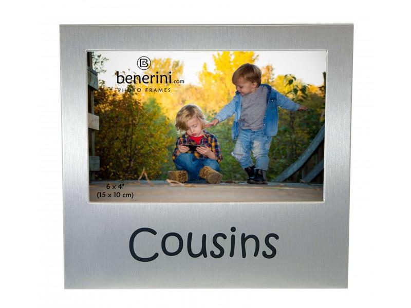 """Cousins Photo Frame - 6 x 4"""" (15 x 10 cm)"""