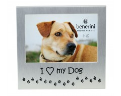 "I Love My Dog Photo Frame - 5 x 3.5"" (13 x 9 cm)"