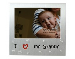 "I Love My Granny Photo Frame - 5 x 3.5"" (13 x 9 cm)"