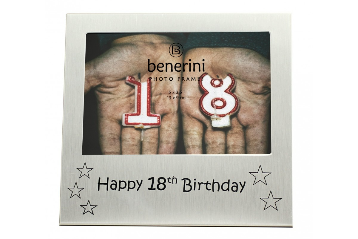 Hy 18th Birthday Photo Frame 5 X 3 13 9 Cm