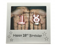 "Happy 18th Birthday Photo Frame - 5 x 3.5"" (13 x 9 cm)"
