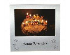 "Happy Birthday Photo Frame - 5 x 3.5"" (13 x 9 cm)"