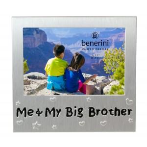 "Me & My Big Brother Photo Frame - 5 x 3.5"" (13 x 9 cm)"