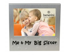 "Me & My Big sister Photo Frame - 5 x 3.5"" (13 x 9 cm)"