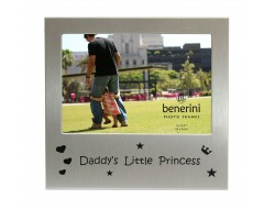 "Daddys Little Princess Photo Frame - 5 x 3.5"" (13 x 9 cm)"