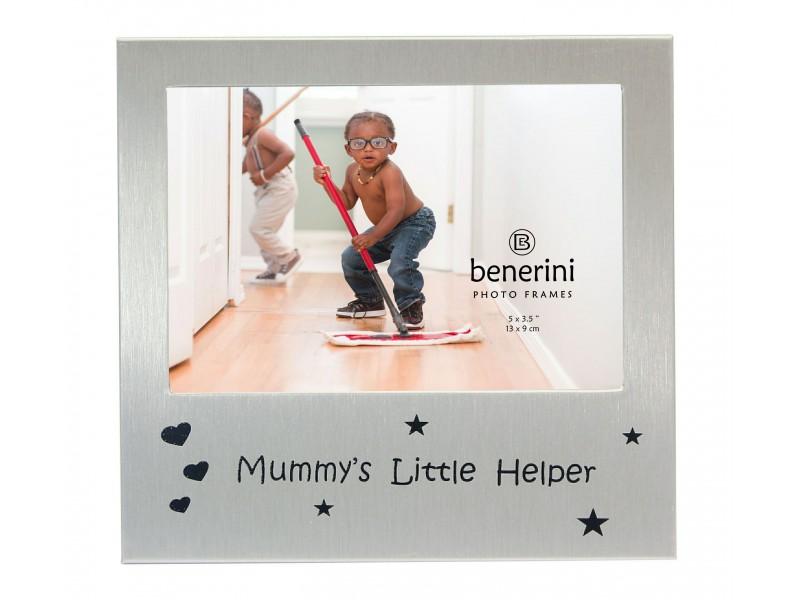 """Mummys Little Helper Photo Frame - 5 x 3.5"""" (13 x 9 cm)"""