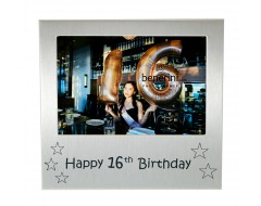 Happy 16th Birthday Photo Picture Frame Gift for Teenager Boy Girl Young Sixteen