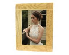 Natural Oak Wooden Picture Photo Frame - Portrait or Landscape - 5 x 7 inches