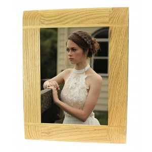 Natural Oak Wooden Picture Photo Frame - Portrait or Landscape - 5 x 7 inches