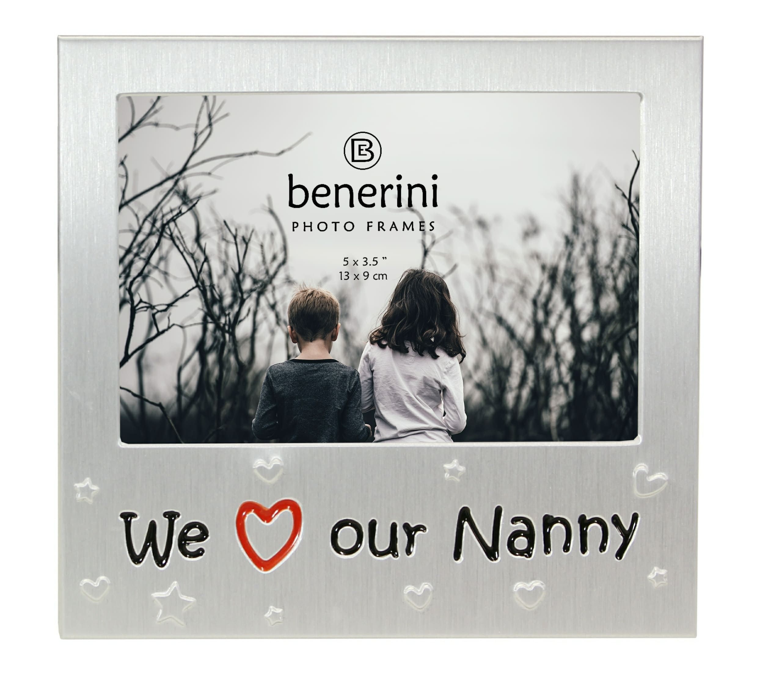 We Love Our Nanny Photo Frame  5 X 35