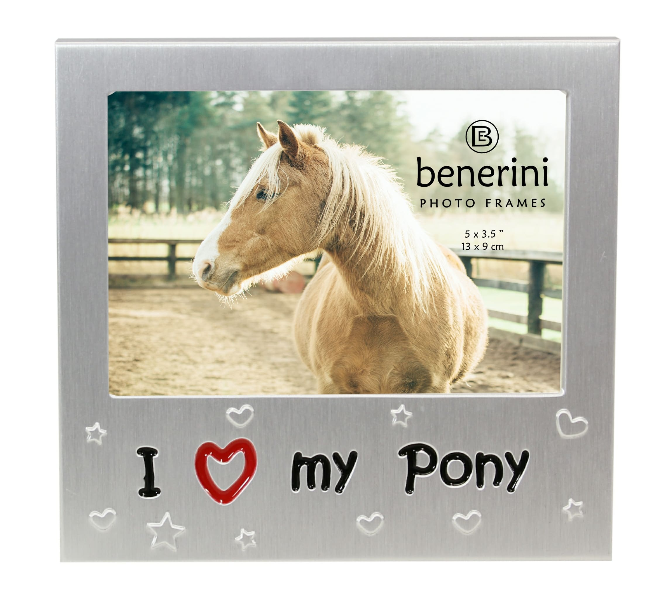 I Love My Pony Photo Frame  5 X 35