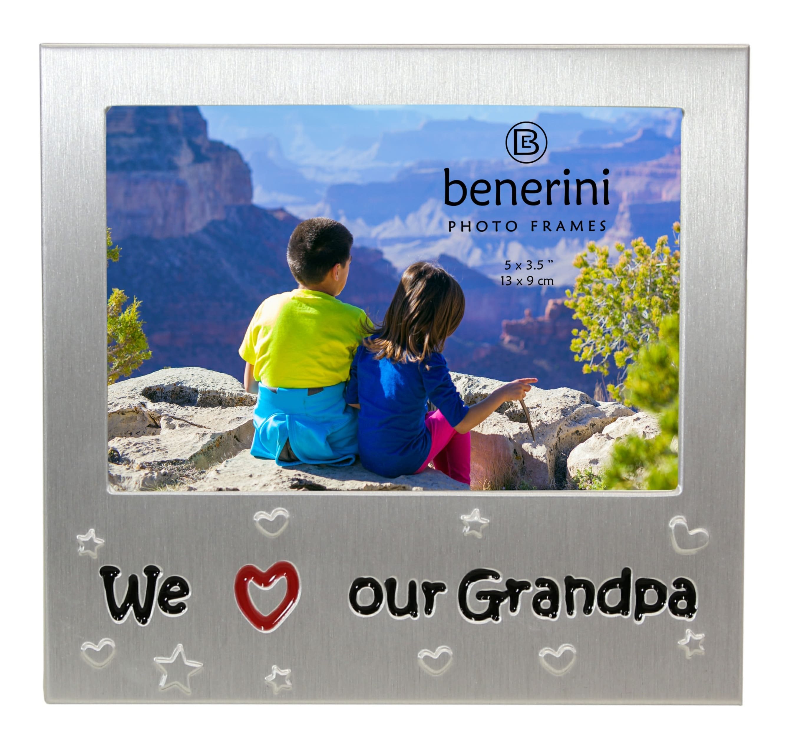 We Love Our Grandpa Photo Frame  5 X 35