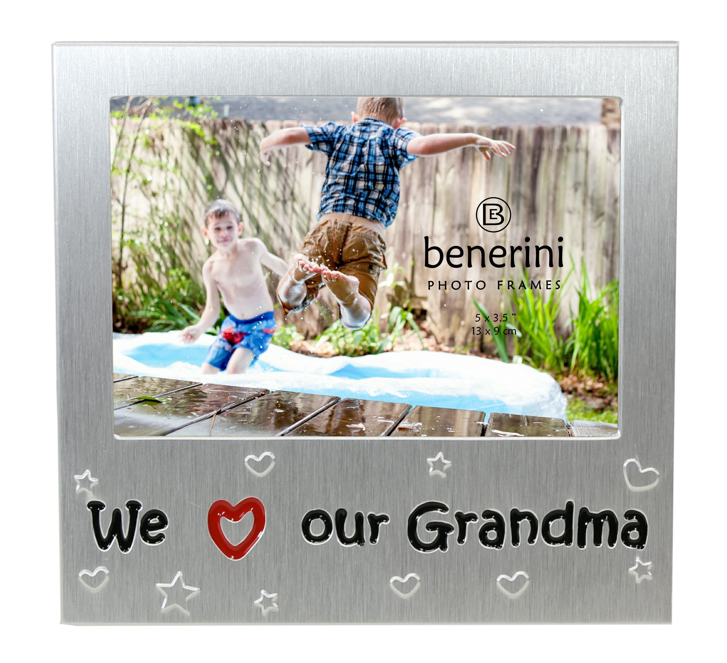 We Love Our Grandma Photo Picture Frame - 5\